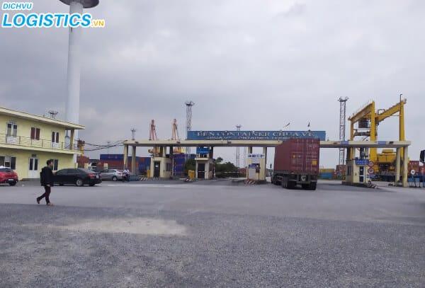 Bến cảng container Hải Phòng