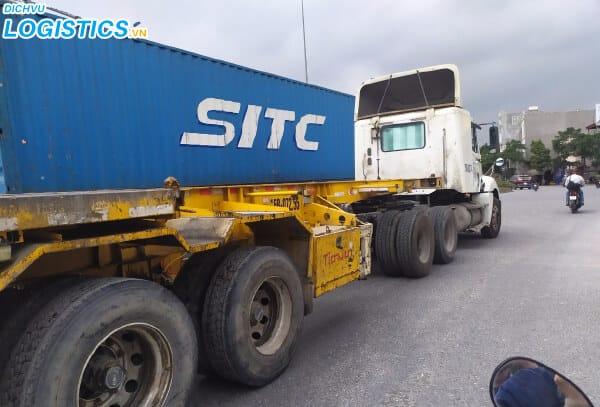 Dịch vụ vận tải container Hải Phòng