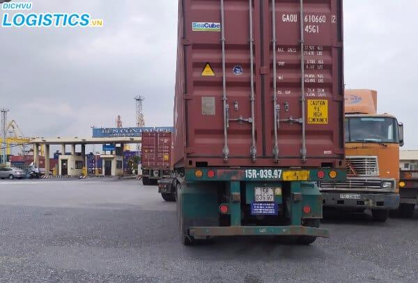 Xe vận chuyển container chuyên nghiệp